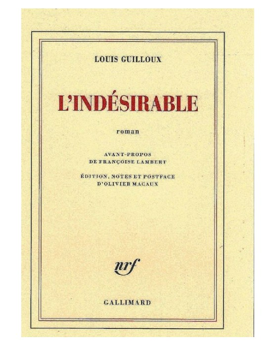 Louis Guilloux. Un écrivain engagé auprès des réfugiés espagnols  Sans1653