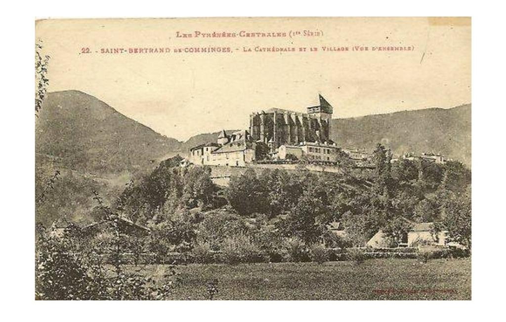 Le crocodile de la cathédrale de Saint-Bertrand-de-Comminges  Sans1699