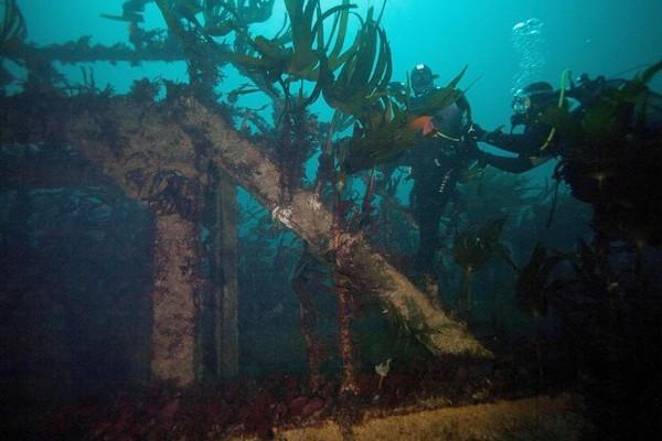 Au large des côtes bretonnes, un patrimoine englouti à découvrir Sans1710
