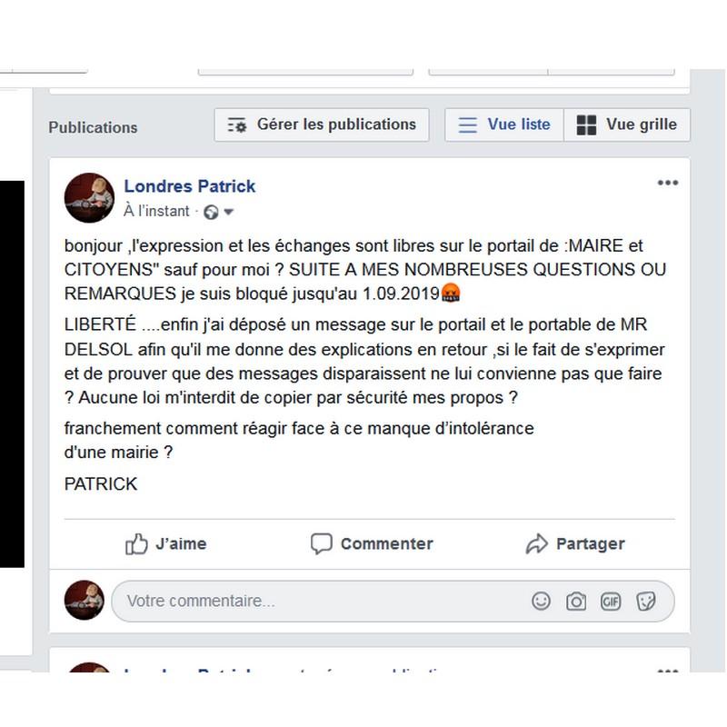 LA PAGE DU FORUM MAIRIE CITOYEN  Sans1749