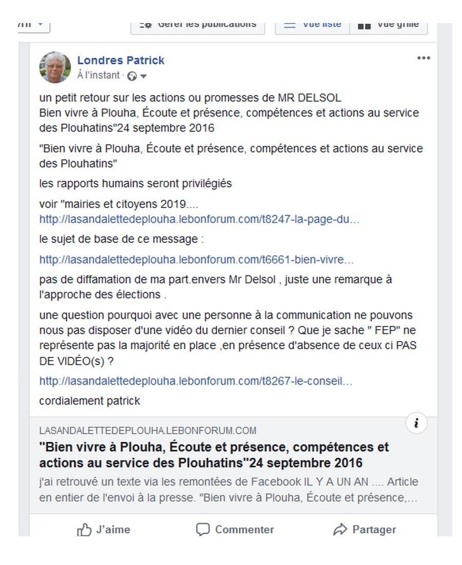 LA PAGE DU FORUM MAIRIE CITOYEN  Sans1851