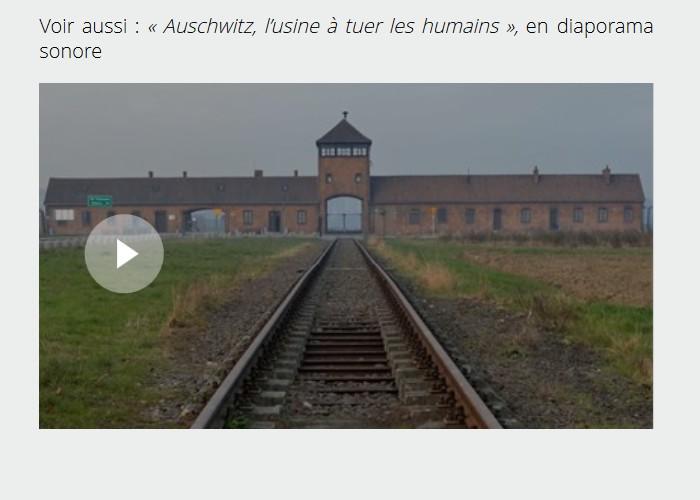 À Auschwitz, avec les derniers témoins français de l'horreur nazie Sans1870