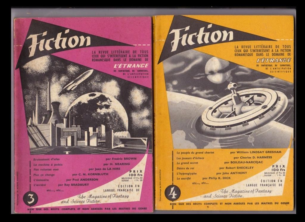 1954 SOUVENIR de la revue FICTION Sans19