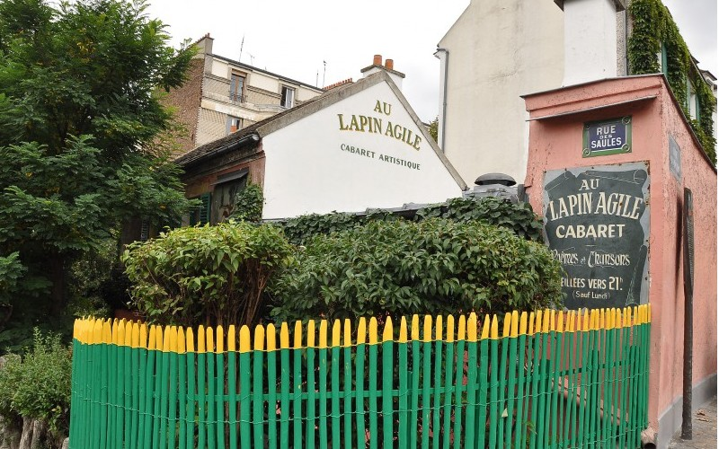 Le Lapin Agile, l'ancien Cabaret des Assassins Sans1964