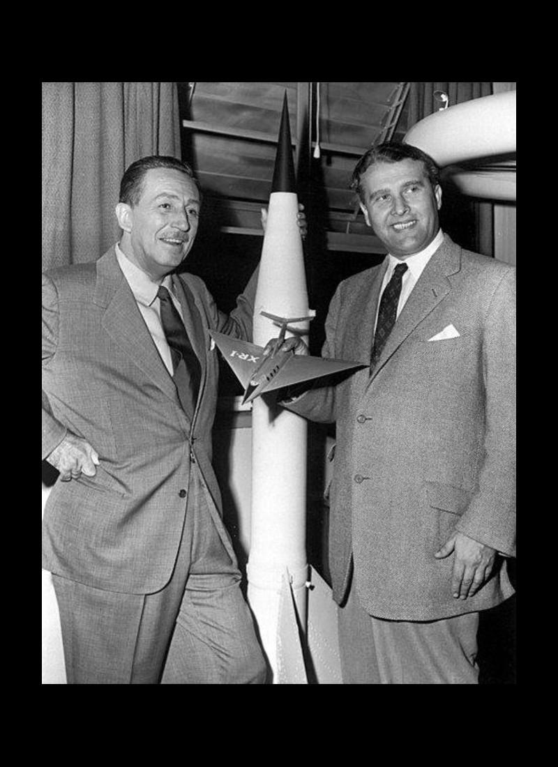 Von Braun, l'ancien nazi qui a permis aux Américains de marcher sur la Lune Sans2100