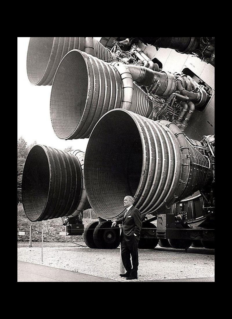 Von Braun, l'ancien nazi qui a permis aux Américains de marcher sur la Lune Sans2101