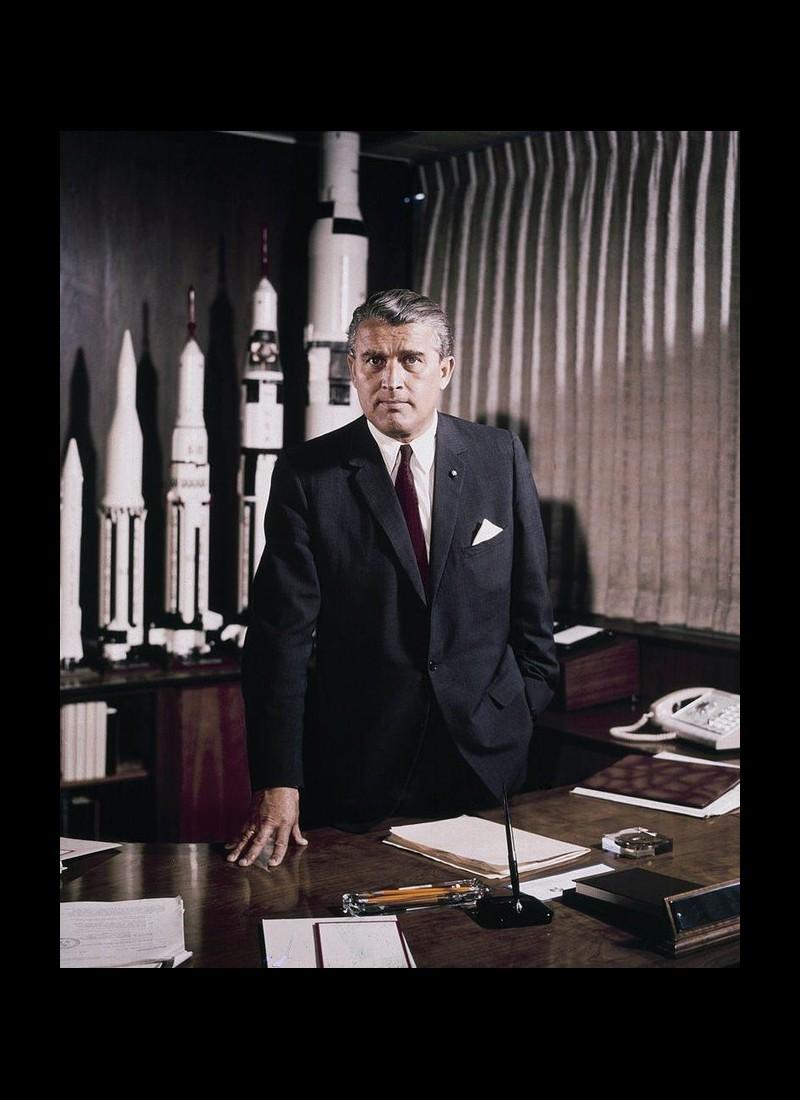 Von Braun, l'ancien nazi qui a permis aux Américains de marcher sur la Lune Sans2102