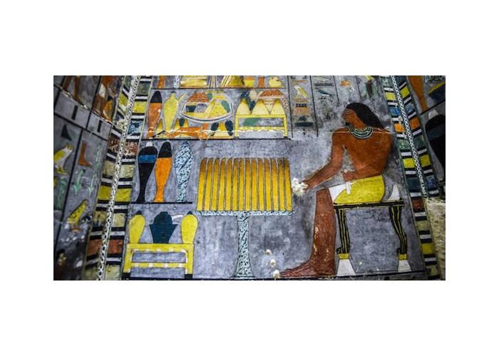 Une tombe de 4 000 ans découverte en Egypte et on dirait que la peinture est fraiche Sans2291