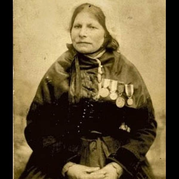 Rose Héré, habitante d'Ouessant Sans2442
