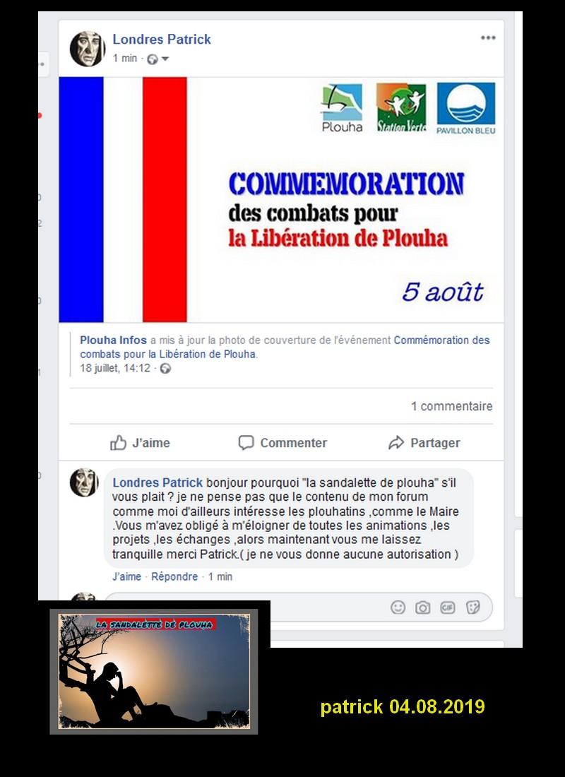 COMMEMORATION LIBERATION DE PLOUHA 2019 Sans2477