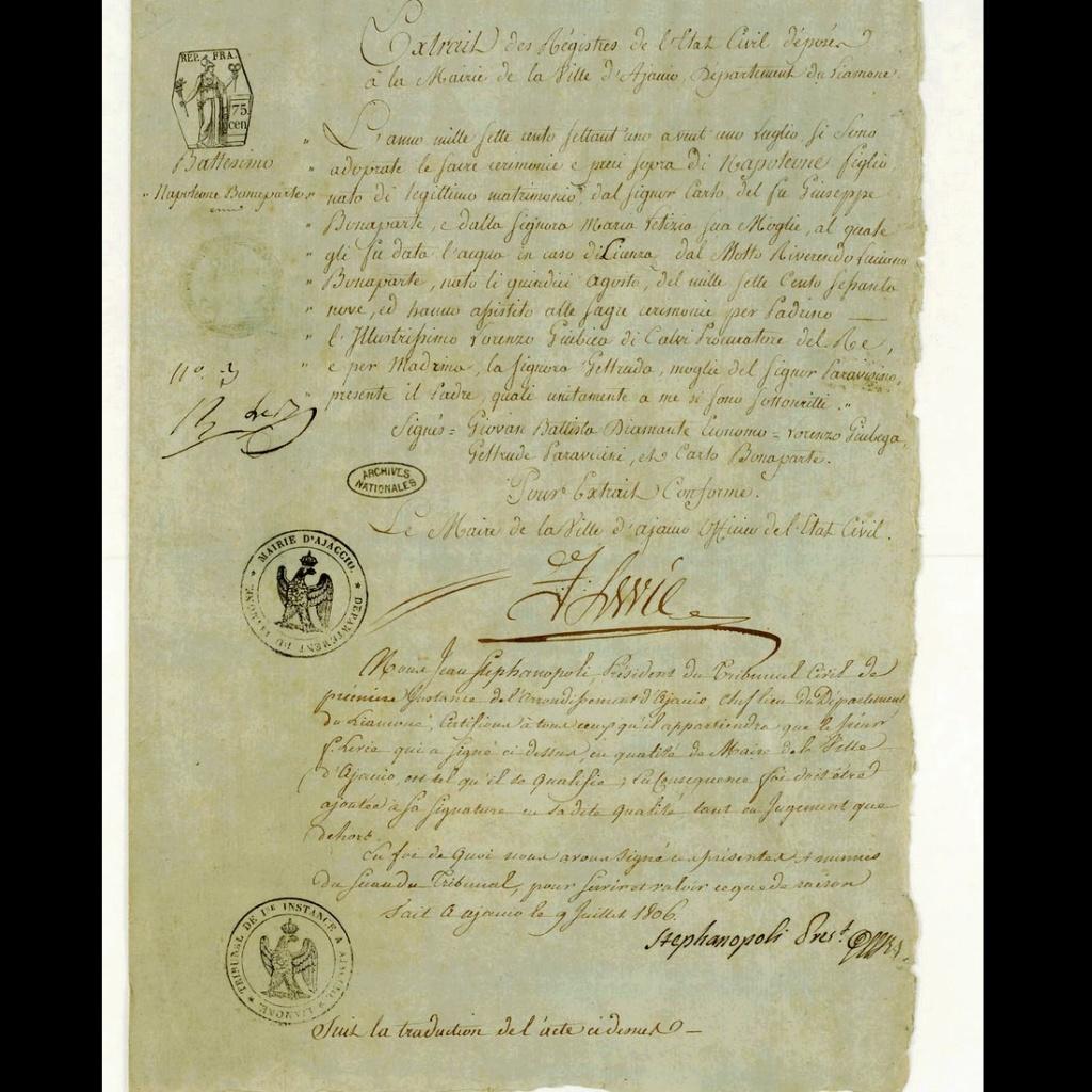 Napoléon Ier Consul puis Empereur des Français Sans2792