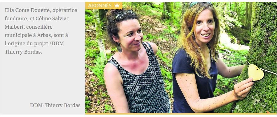 Haute-Garonne : découvrez la première forêt de France où l'on peut enterrer les cendres des défunts Sans3021