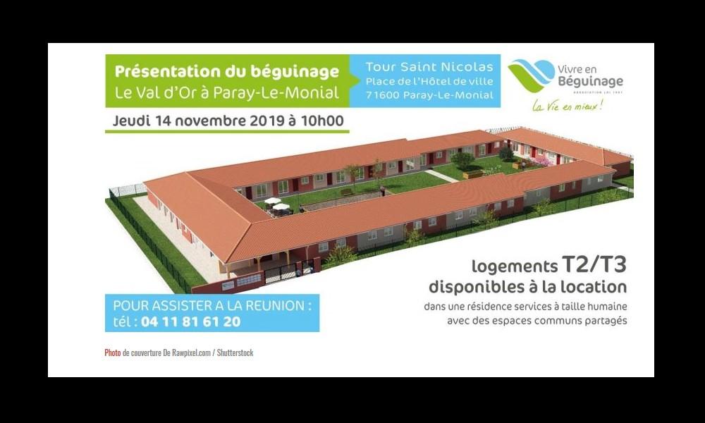 LE BEGUINAGE  : des résidences médicalisées où les seniors restent totalement autonomes Sans3148