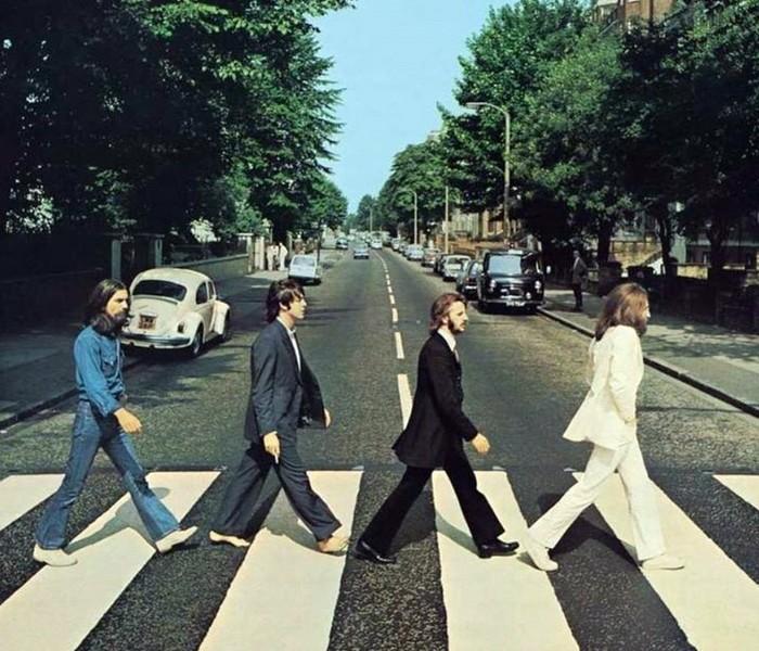 Les Beatles - Abbey Road, Londres. Sans3461