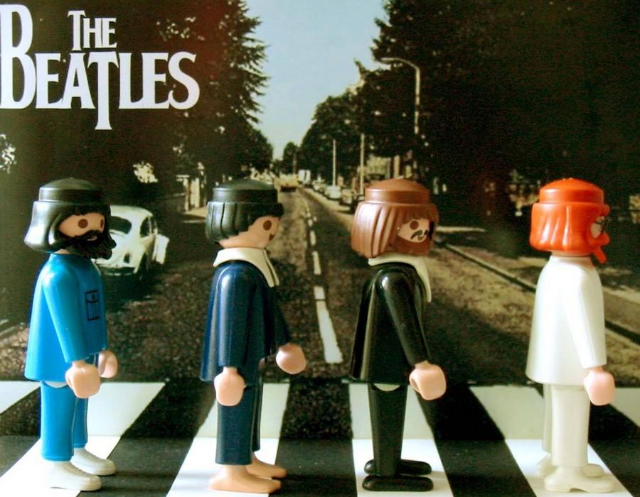 Les Beatles - Abbey Road, Londres. Sans3462