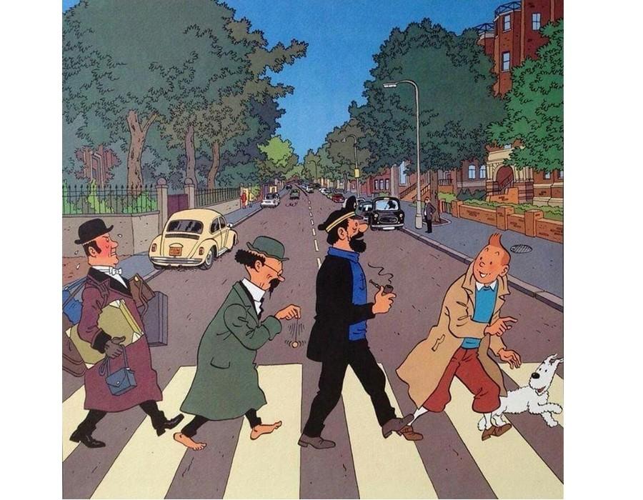 Les Beatles - Abbey Road, Londres. Sans3463