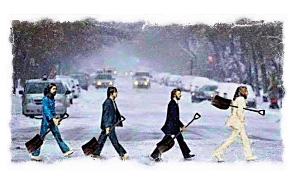 Les Beatles - Abbey Road, Londres. Sans3464
