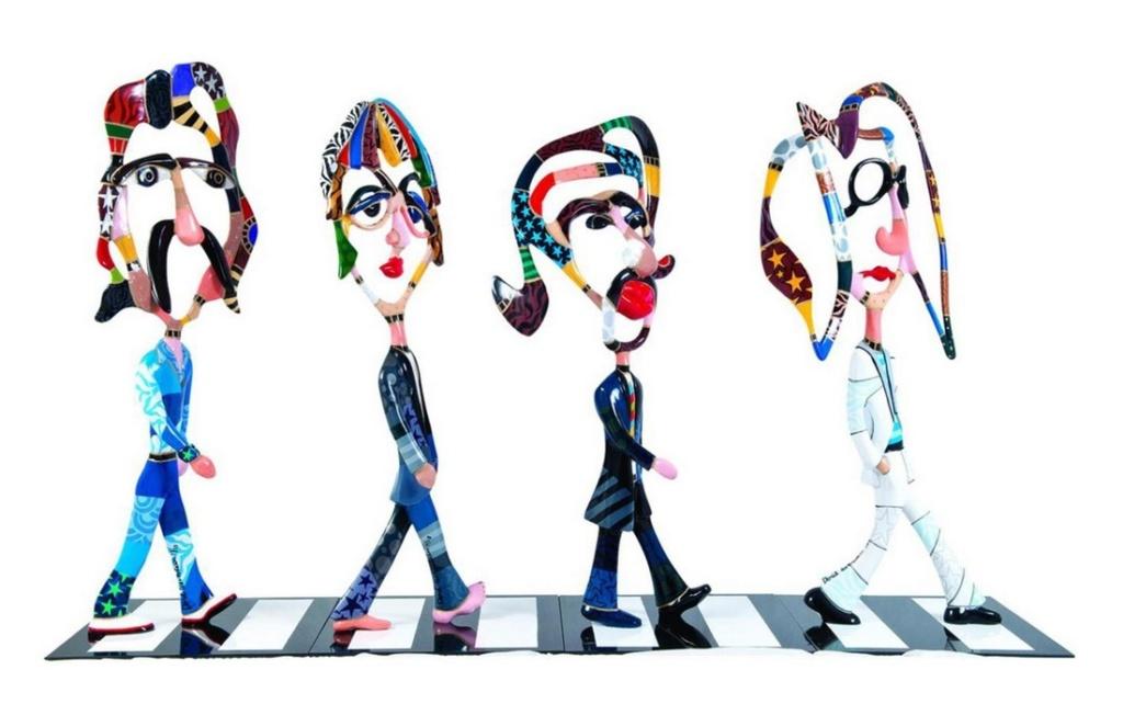 Les Beatles - Abbey Road, Londres. Sans3465