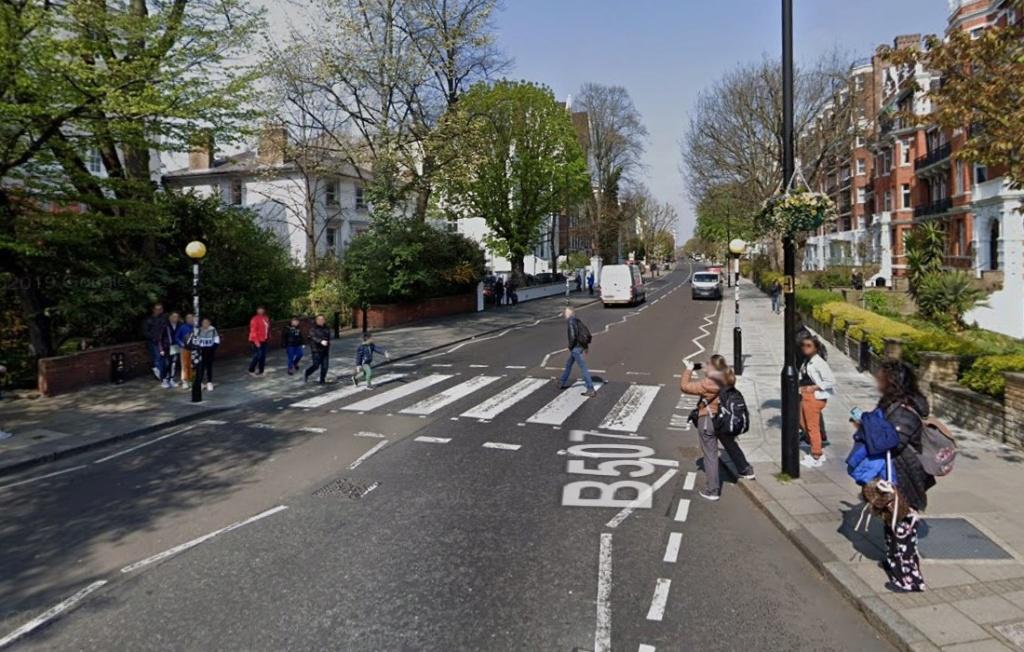 Les Beatles - Abbey Road, Londres. Sans3466