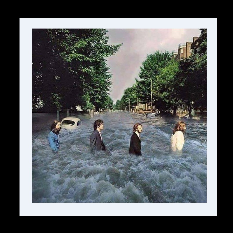 Les Beatles - Abbey Road, Londres. Sans3521