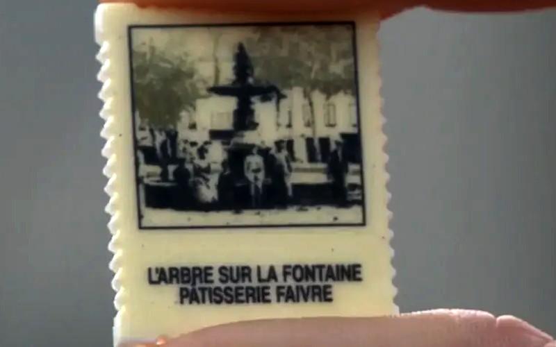 Tarn : les fèves de ce pâtissier reproduisent des vieilles cartes postales de sa ville Sans3602