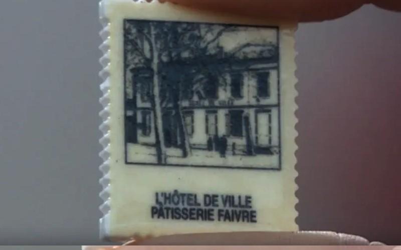 Tarn : les fèves de ce pâtissier reproduisent des vieilles cartes postales de sa ville Sans3603