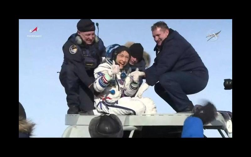 Qui est Christina Koch, l'astronaute qui a passé 328 jours dans l'espace ? Sans3709