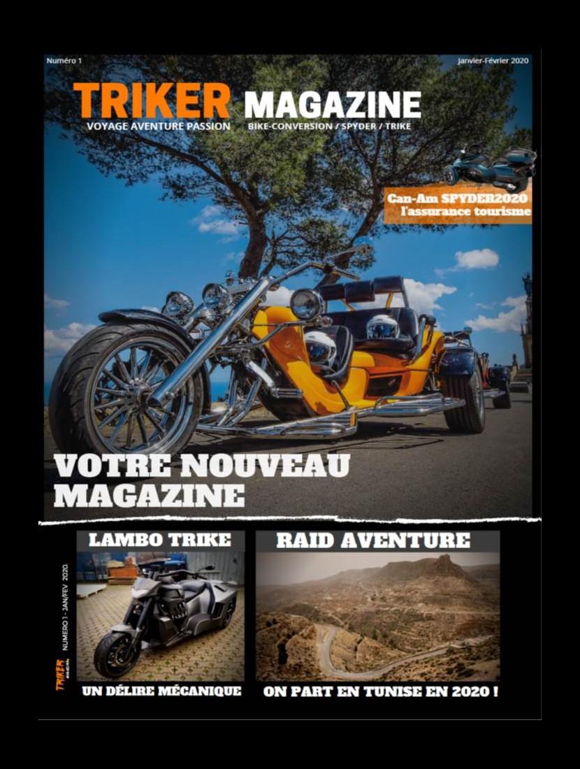 NOUVEAU  Le magazine TRIKER consacré aux...... Sans3730