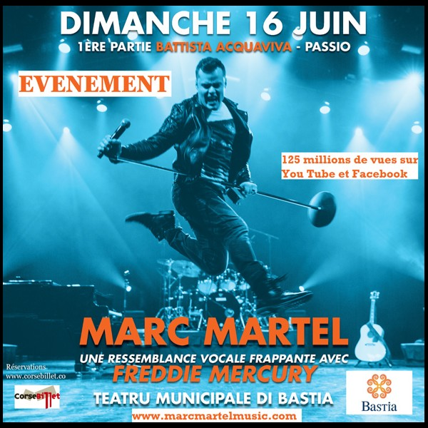 MARC MARTEL   SOSIE VOCAL de FREDIE MERCURY  Sans3899