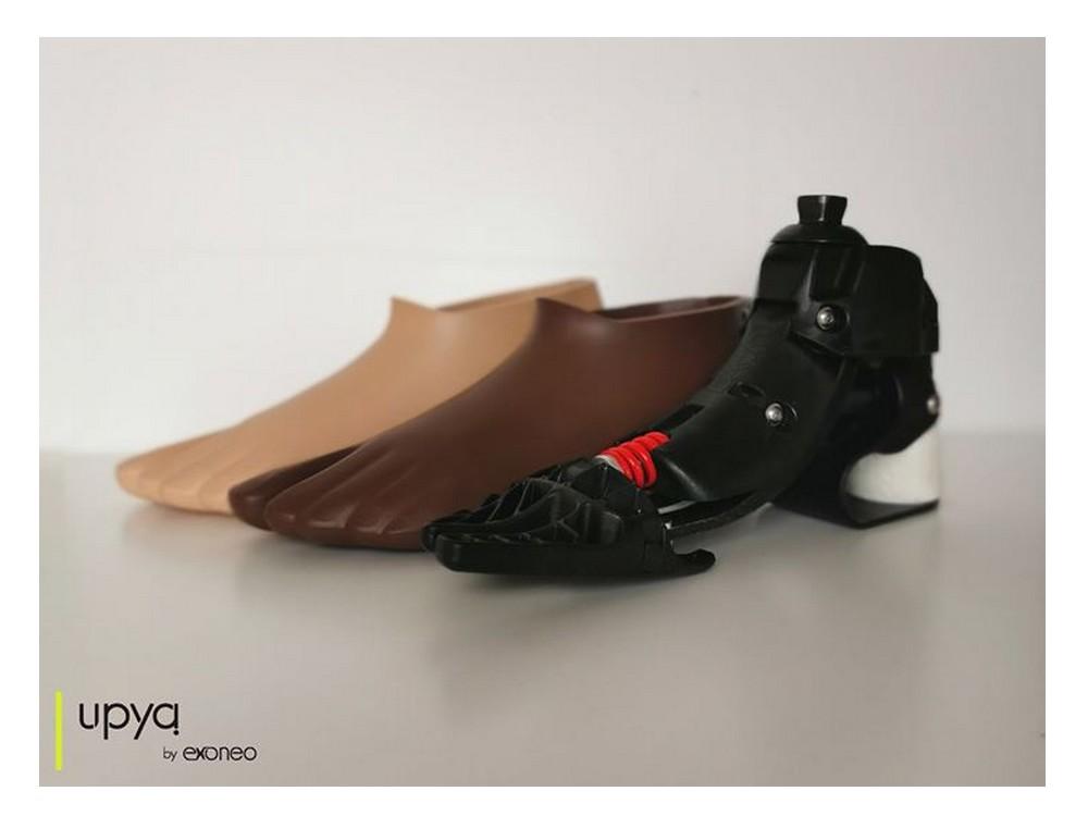 UPYA : un entrepreneur français à mis au point une prothèse de pied 20 fois moins chère que les prothèses classiques. Sans4505