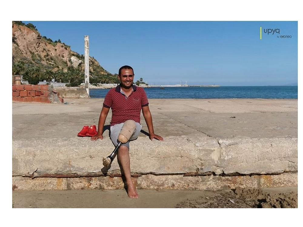 UPYA : un entrepreneur français à mis au point une prothèse de pied 20 fois moins chère que les prothèses classiques. Sans4506