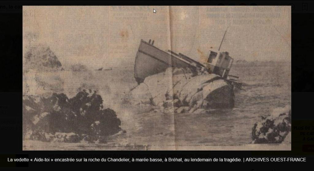 Il y a 65 ans, la catastrophe frappait l'île de Bréhat : 14 personnes mortes dans un naufrage Sans4648
