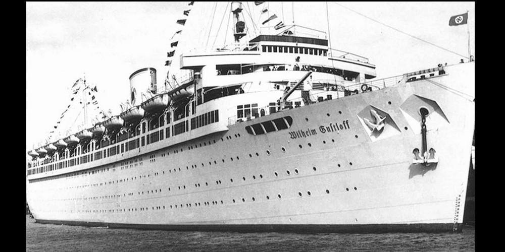 la plus grande catastrophe maritime de l'histoire, le naufrage du Wilhelm Gustloff. Sans4674