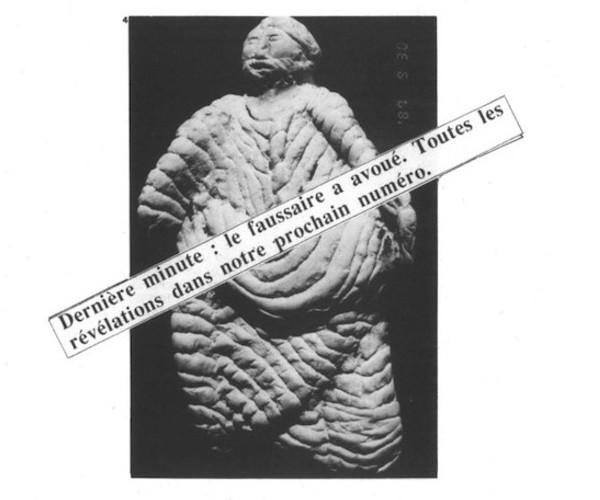 Trois fameuses histoires de faux en archéologie Sans4867