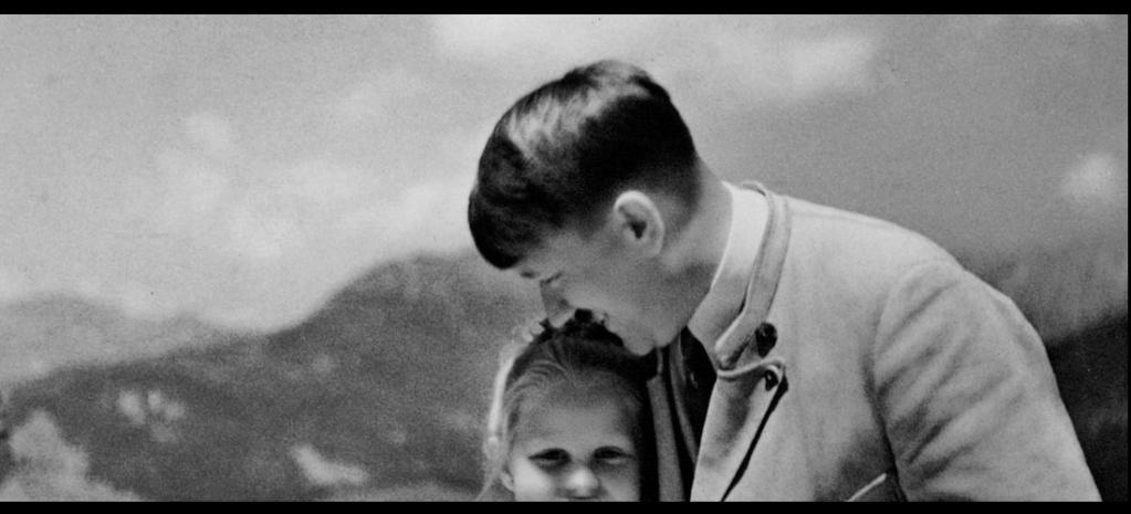 Récit : L'histoire dernière la photo de cette fillette juive et Adolf Hitler Sans4889