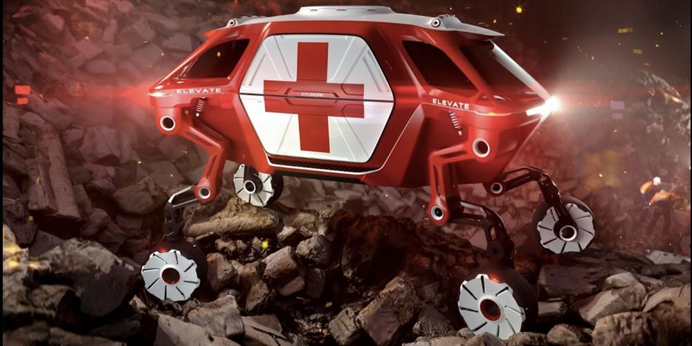 Cette voiture a des jambes pour sauver n'importe qui, n'importe où Sans5001