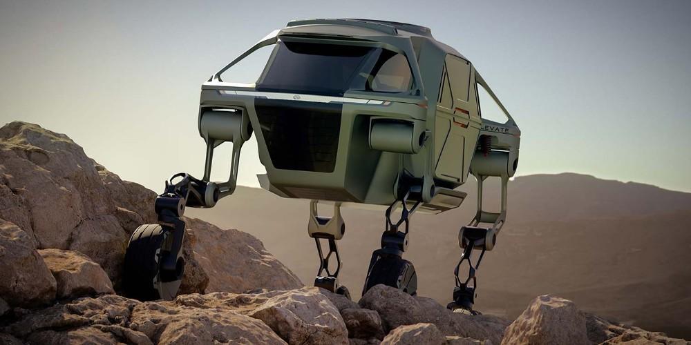 Cette voiture a des jambes pour sauver n'importe qui, n'importe où Sans5002