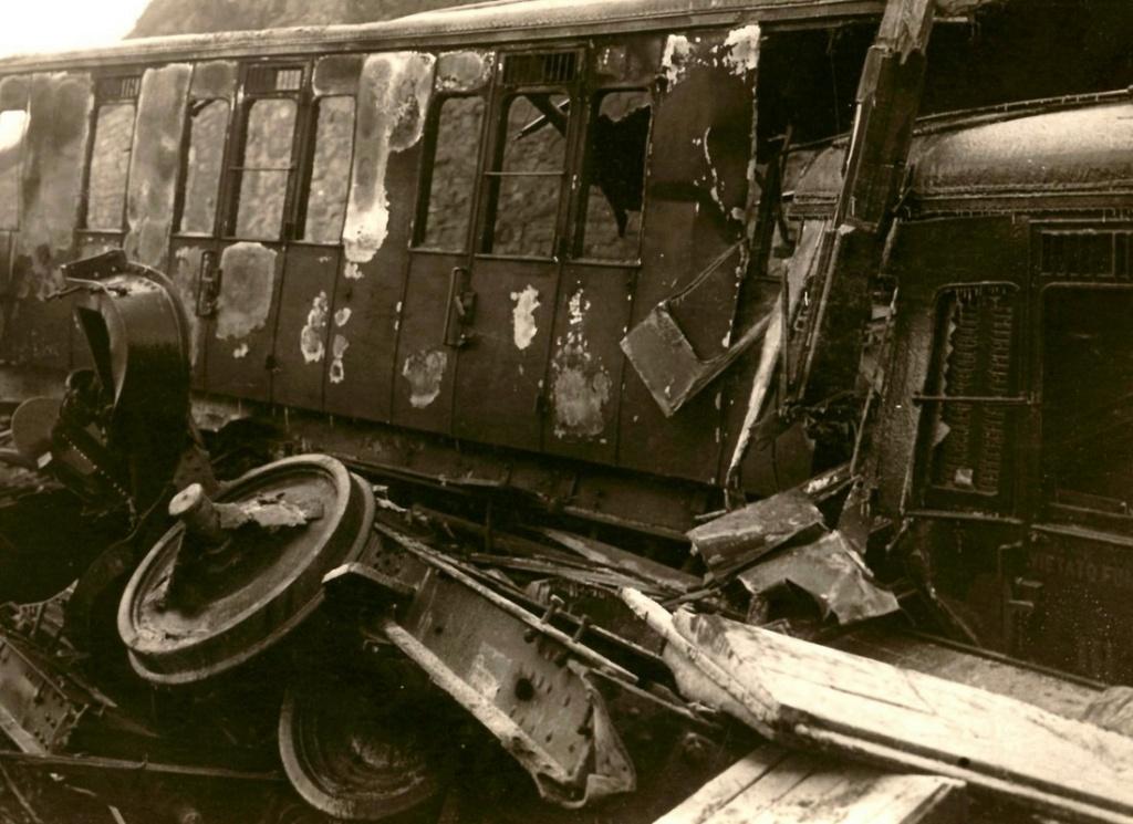 Il y a plus de 100 ans, la plus grande catastrophe ferroviaire de France, à Saint-Michel de Maurienne. Sans5158