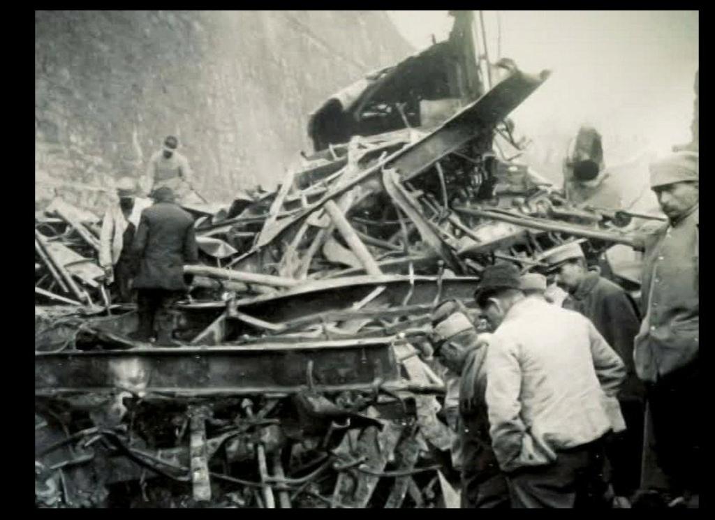 Il y a plus de 100 ans, la plus grande catastrophe ferroviaire de France, à Saint-Michel de Maurienne. Sans5159