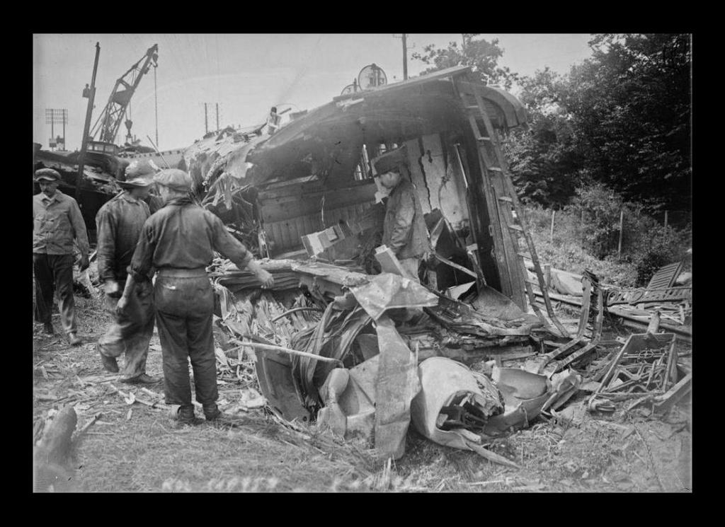 Il y a plus de 100 ans, la plus grande catastrophe ferroviaire de France, à Saint-Michel de Maurienne. Sans5160