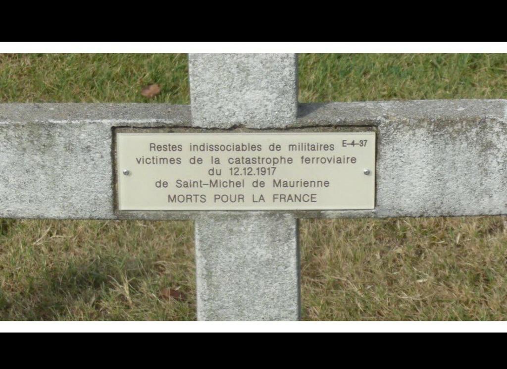 Il y a plus de 100 ans, la plus grande catastrophe ferroviaire de France, à Saint-Michel de Maurienne. Sans5161