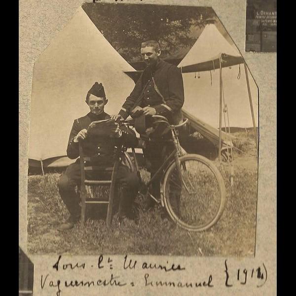 2  janvier 1915, Emmanuel HUET-TANQUEREY a 27 ans Sans5256