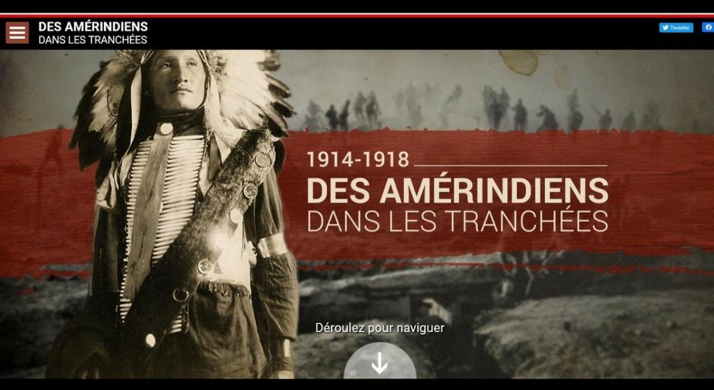 1914 1918  DES AMERINDIENS DANS LES TRANCHEES......... Sans5633