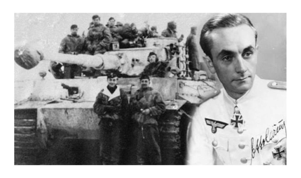 Connaissiez vous l'histoire rocambolesque de l'as tankiste allemand Otto Carius, grand spécialiste du char Tigre I et second plus grand as de l'armée allemande ? Sans5835