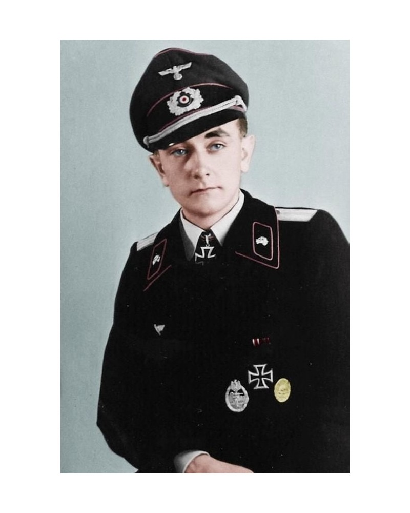 Connaissiez vous l'histoire rocambolesque de l'as tankiste allemand Otto Carius, grand spécialiste du char Tigre I et second plus grand as de l'armée allemande ? Sans5836