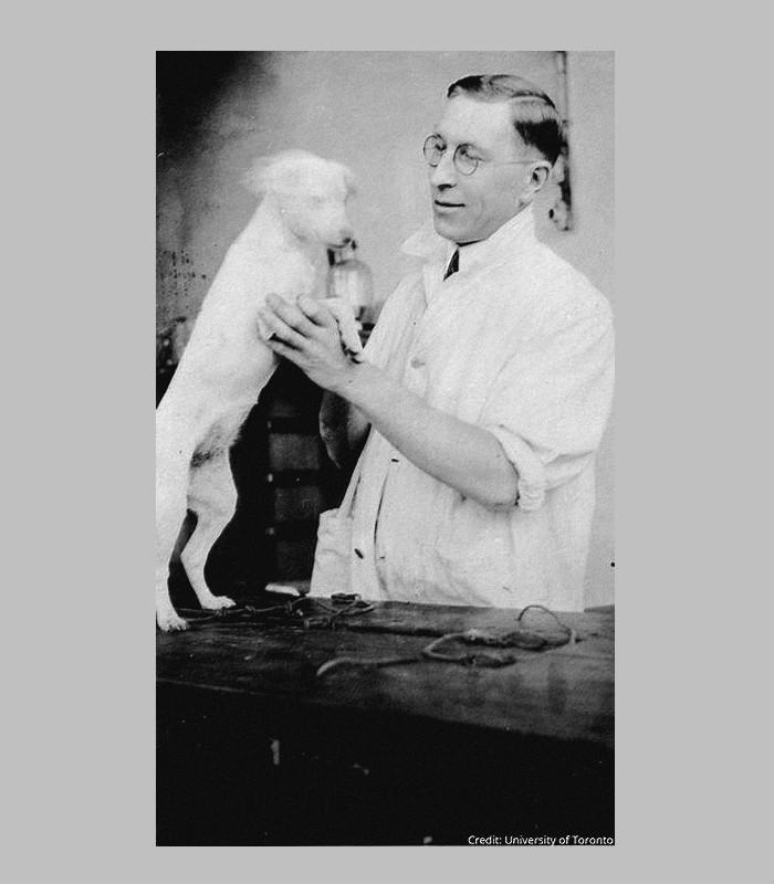 En 1921, Frederick Banting, que rien ne prédisposait à bouleverser Sans6004