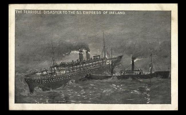 Tous les grands naufrages ou catastrophes maritimes n'ont pas la célébrité que le Titanic. Sans6116