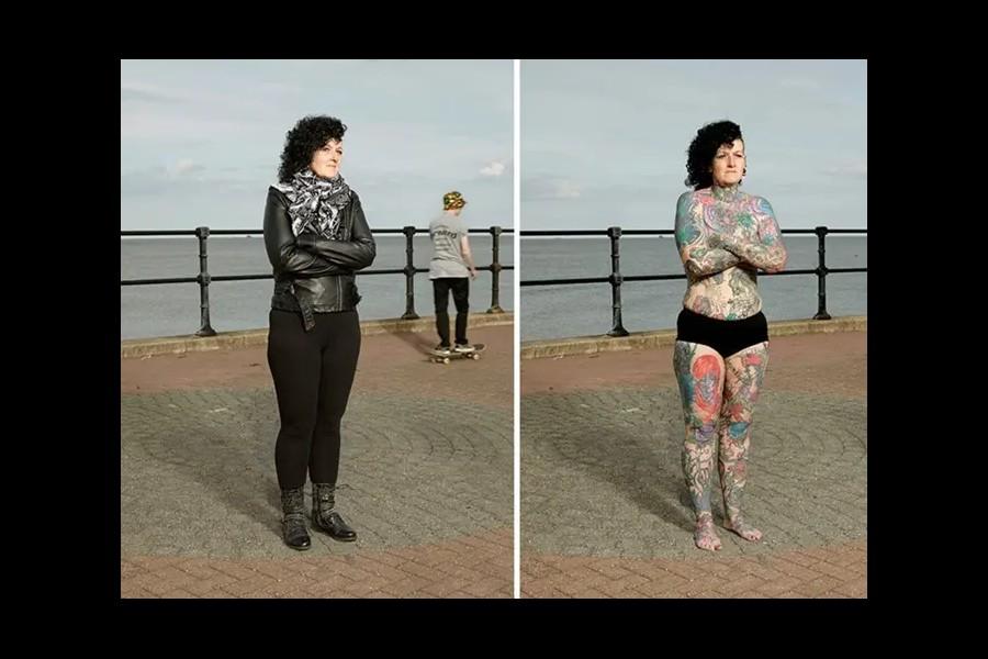 14 personnes tatouées se mettent à nu pour briser les clichés Sans6277