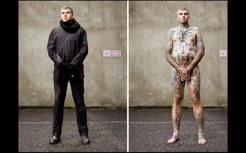14 personnes tatouées se mettent à nu pour briser les clichés Sans6280