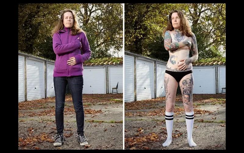 14 personnes tatouées se mettent à nu pour briser les clichés Sans6284